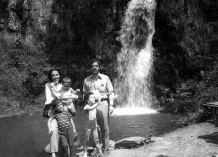 Waterfall in Pance 1976